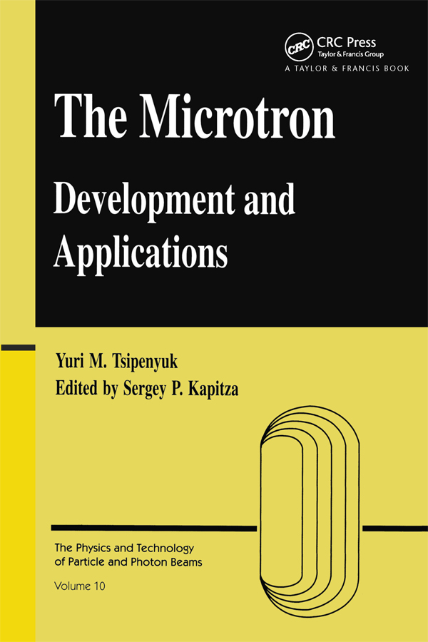 Microtron: Development and Applications, 1st Edition (Paperback) book cover