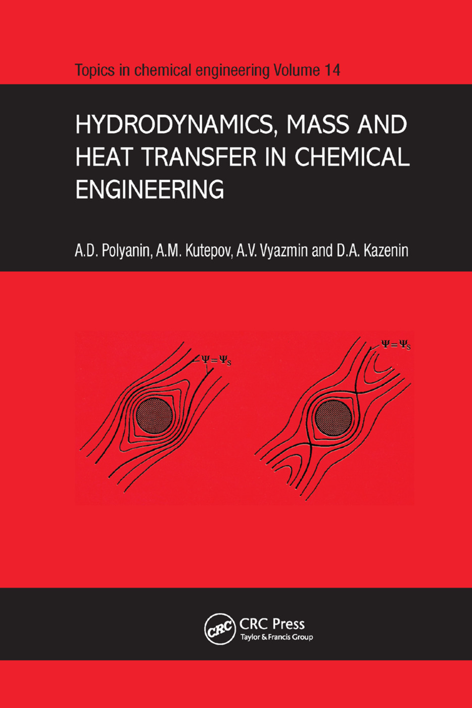 Hydrodynamics, Mass and Heat Transfer in Chemical Engineering: 1st Edition (Paperback) book cover