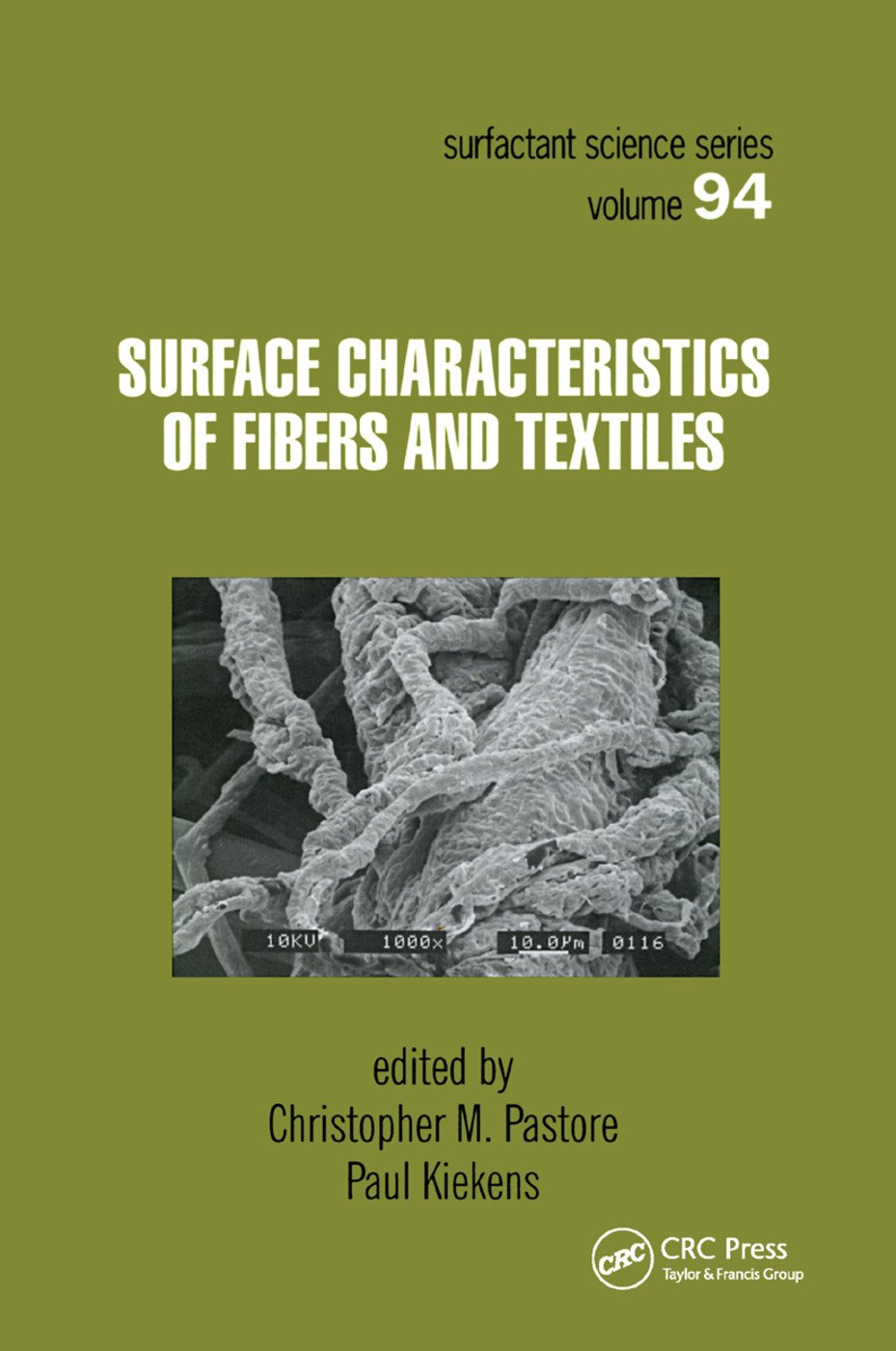 Surface Characteristics of Fibers and Textiles: 1st Edition (Paperback) book cover