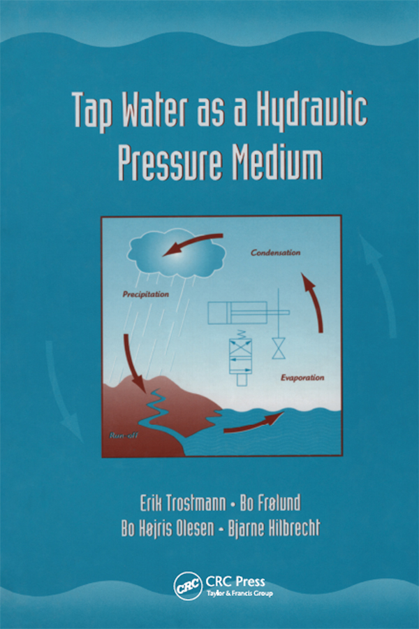 Tap Water as a Hydraulic Pressure Medium: 1st Edition (Paperback) book cover