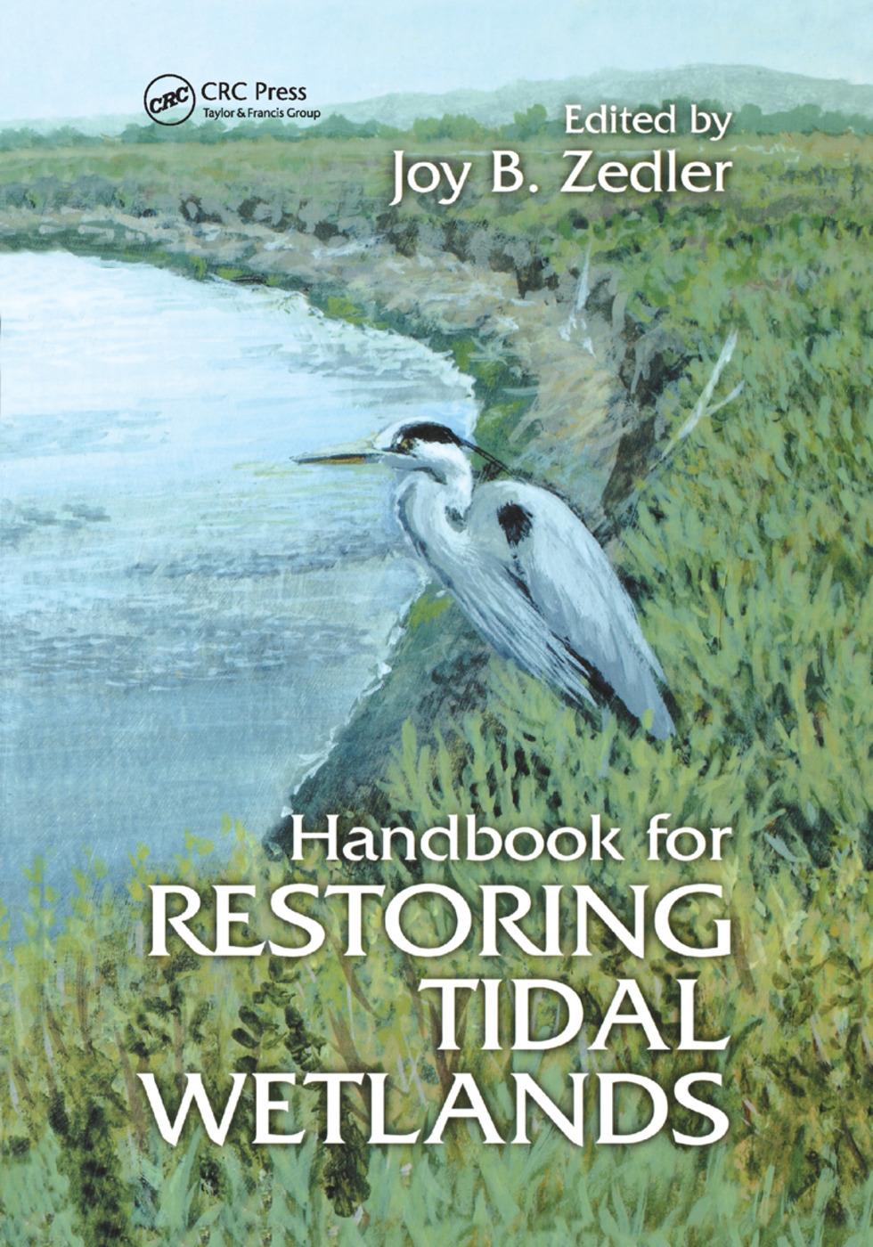 Handbook for Restoring Tidal Wetlands: 1st Edition (Paperback) book cover