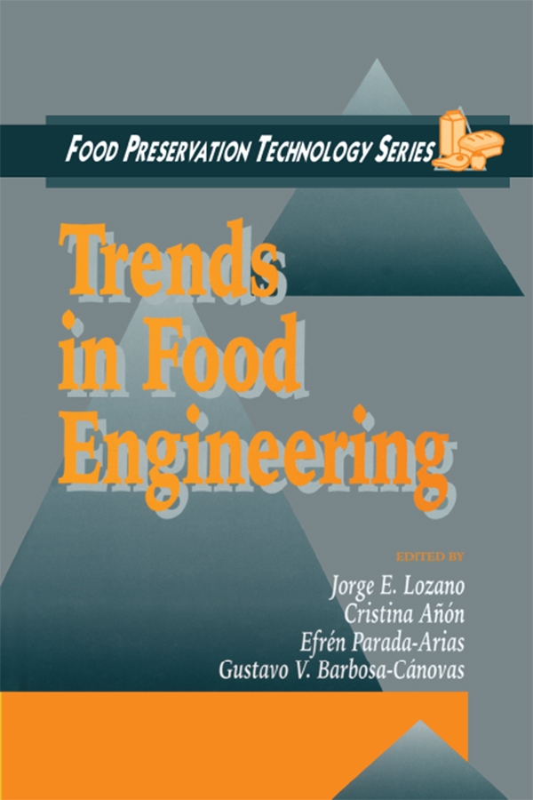 Trends in Food Engineering: 1st Edition (Paperback) book cover