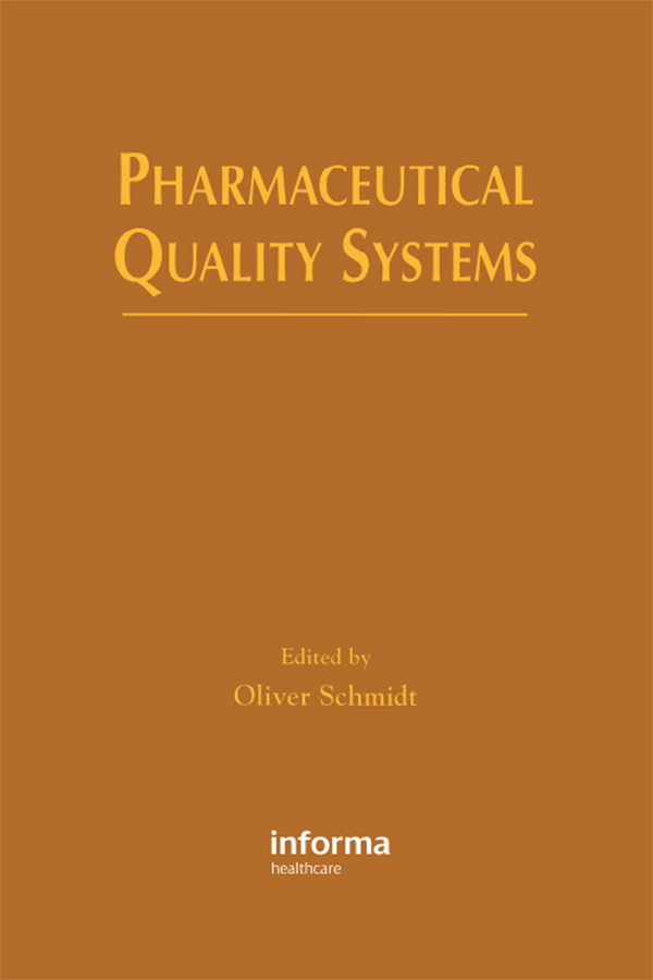 Pharmaceutical Quality Systems: 1st Edition (Paperback) book cover