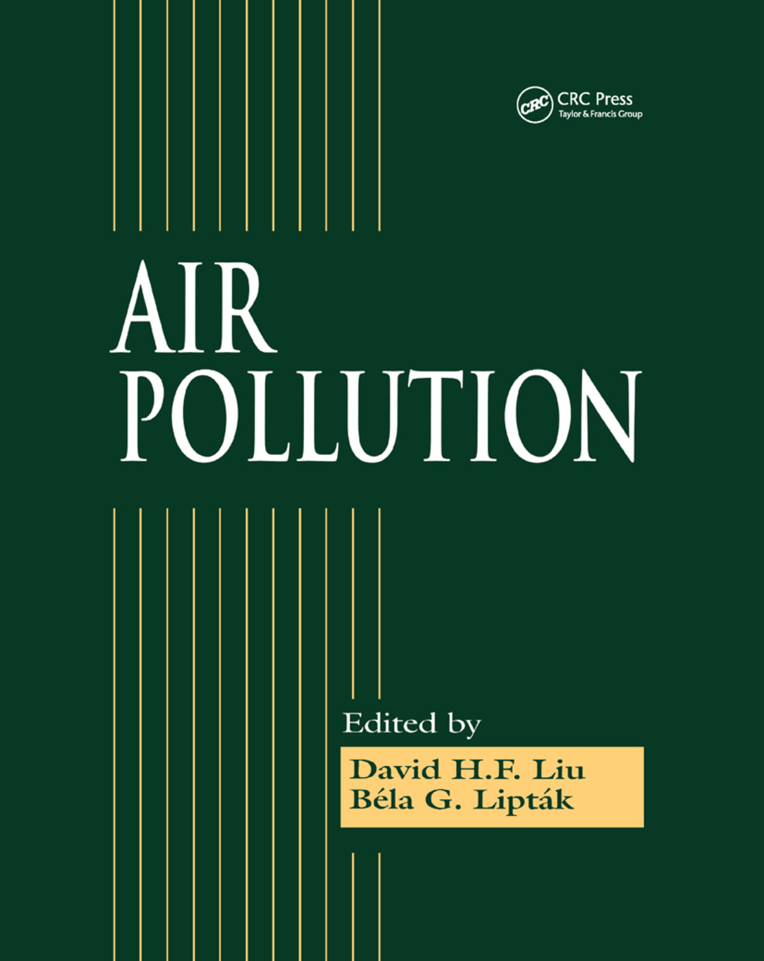 Air Pollution: 1st Edition (Paperback) book cover