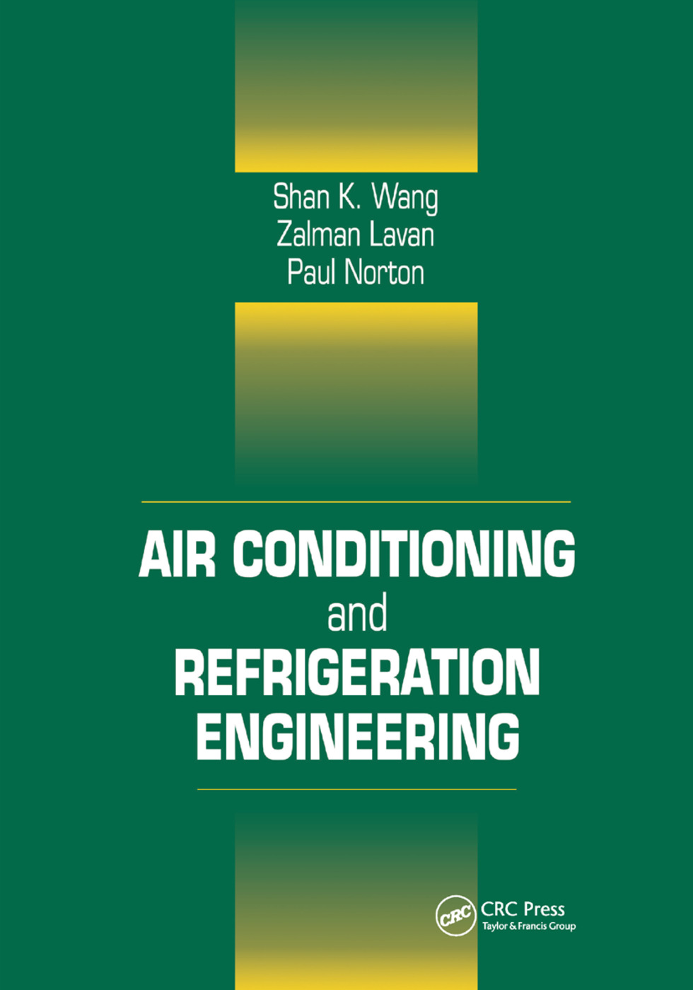 Air Conditioning and Refrigeration Engineering: 1st Edition (Paperback) book cover
