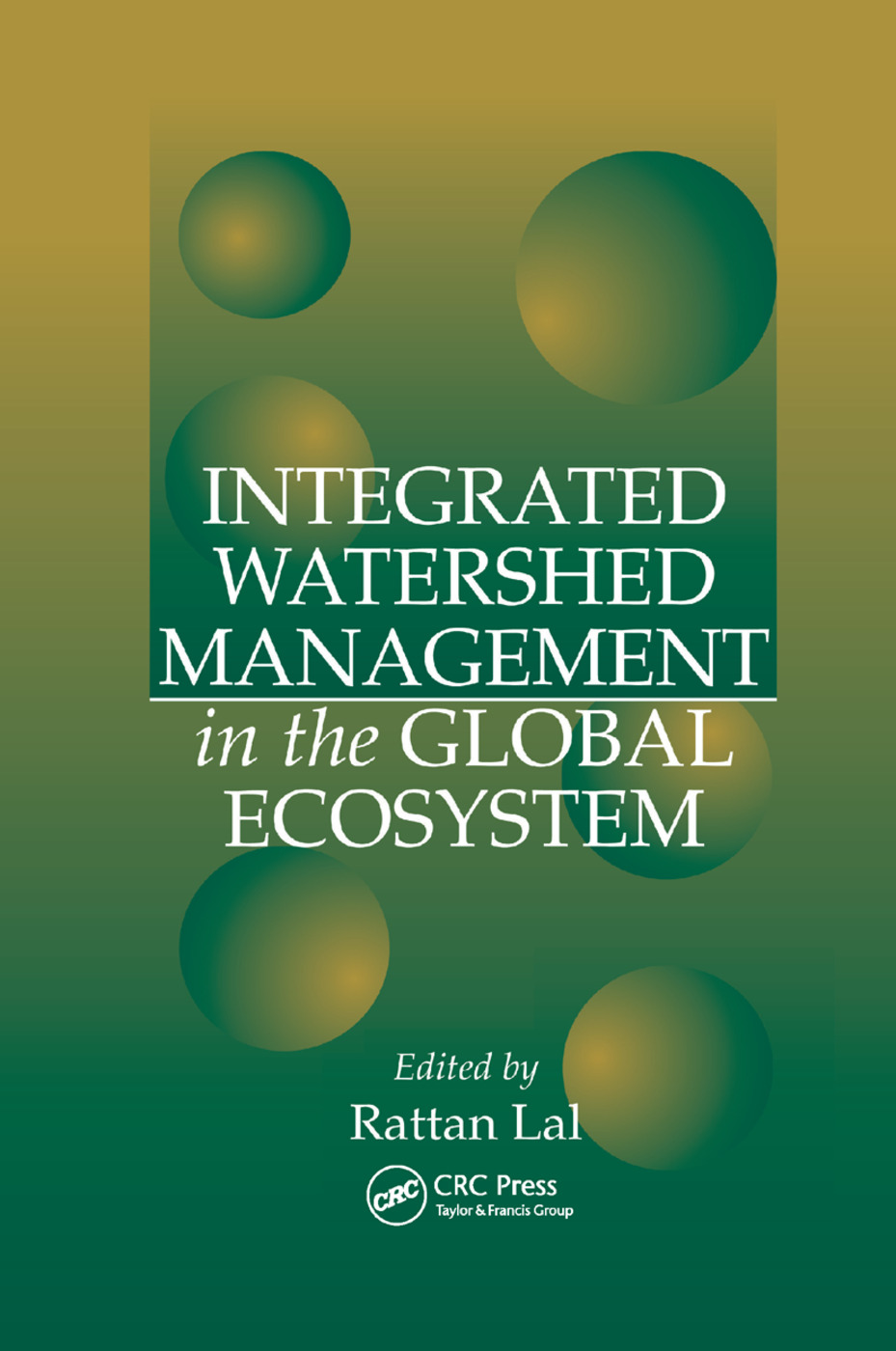 Integrated Watershed Management in the Global Ecosystem: 1st Edition (Paperback) book cover
