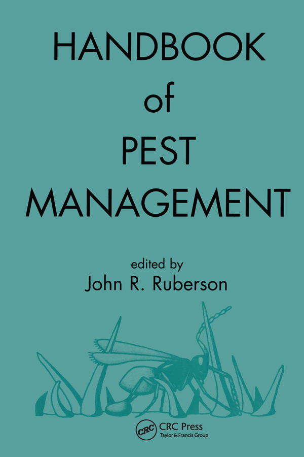 Handbook of Pest Management: 1st Edition (Hardback) book cover
