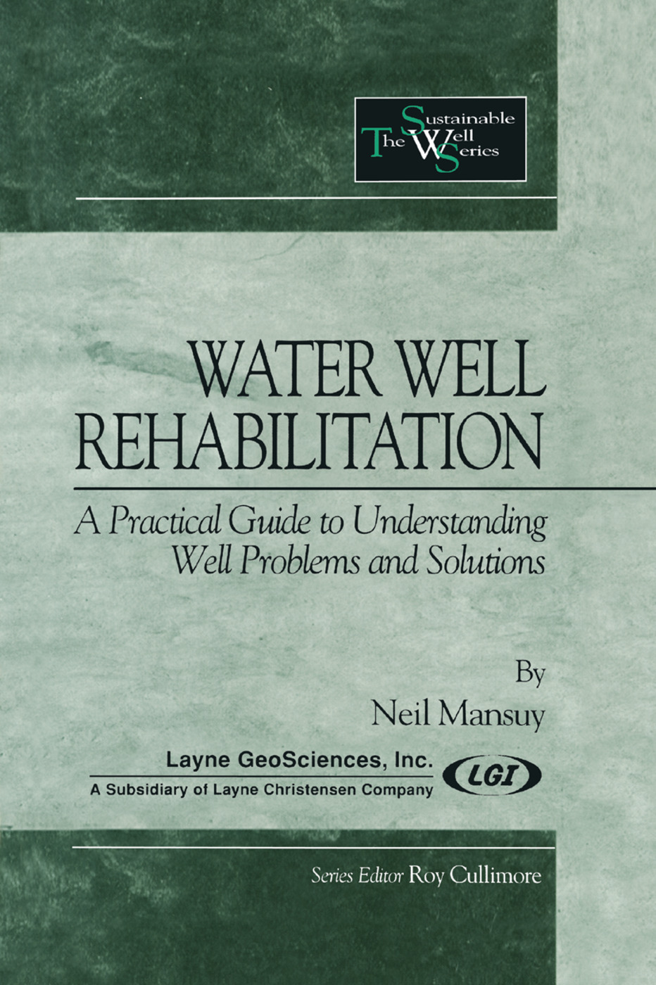 Water Well Rehabilitation: A Practical Guide to Understanding Well Problems and Solutions, 1st Edition (Paperback) book cover