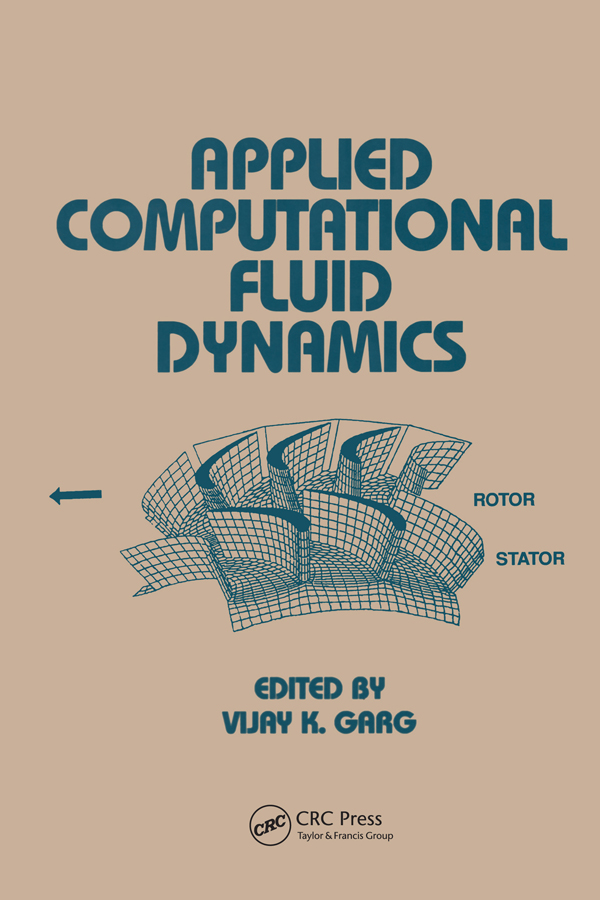 Applied Computational Fluid Dynamics: 1st Edition (Paperback) book cover