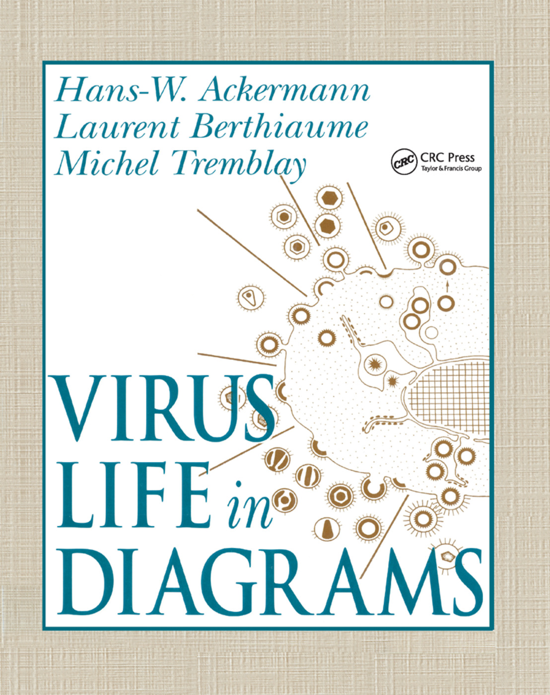 Virus Life in Diagrams: 1st Edition (Paperback) book cover