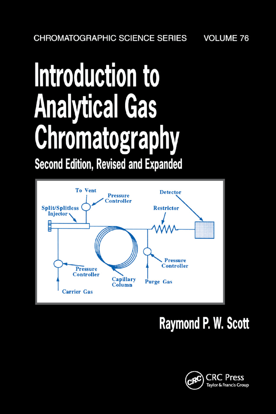 Introduction to Analytical Gas Chromatography, Revised and Expanded: 2nd Edition (Paperback) book cover