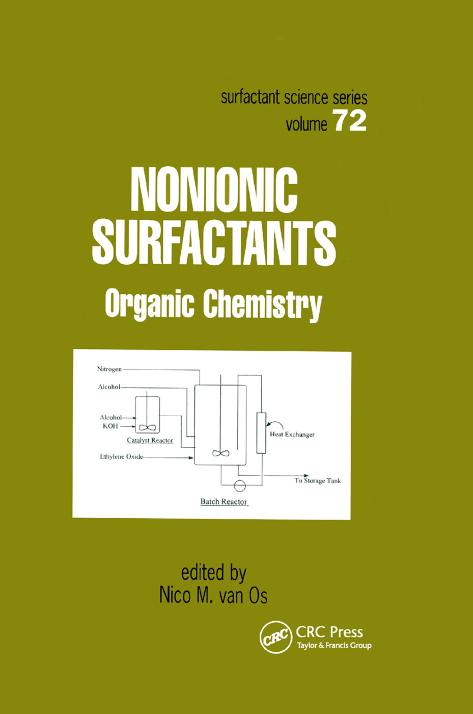 Nonionic Surfactants: Organic Chemistry, 1st Edition (Paperback) book cover