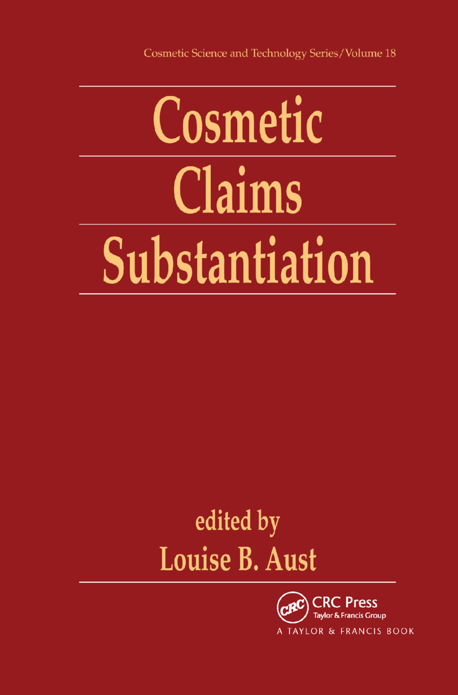 Cosmetic Claims Substantiation: 1st Edition (Paperback) book cover