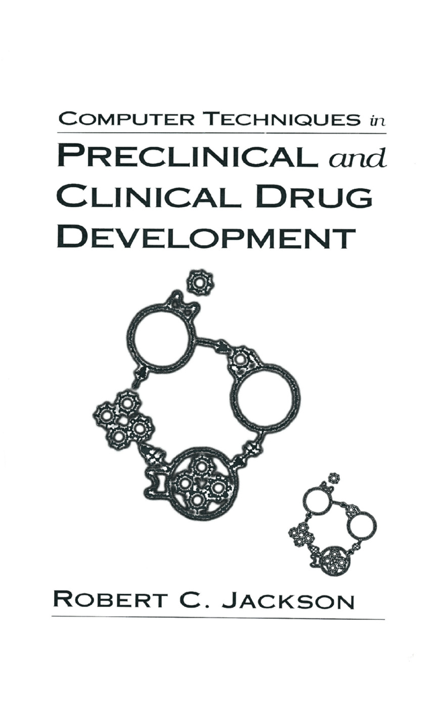 Computer Techniques in Preclinical and Clinical Drug Development: 1st Edition (Paperback) book cover