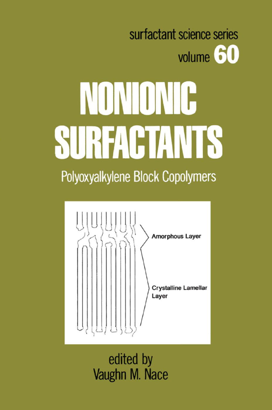 Nonionic Surfactants: Polyoxyalkylene Block Copolymers, 1st Edition (Paperback) book cover