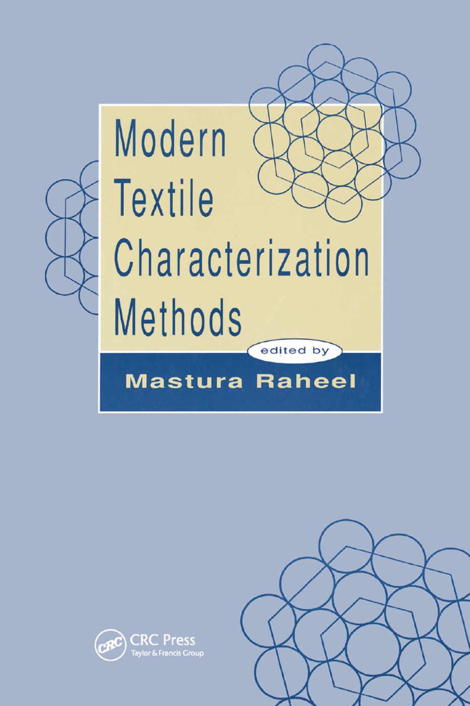 Modern Textile Characterization Methods: 1st Edition (Paperback) book cover