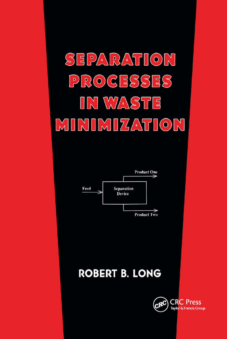 Separation Processes in Waste Minimization: 1st Edition (Paperback) book cover