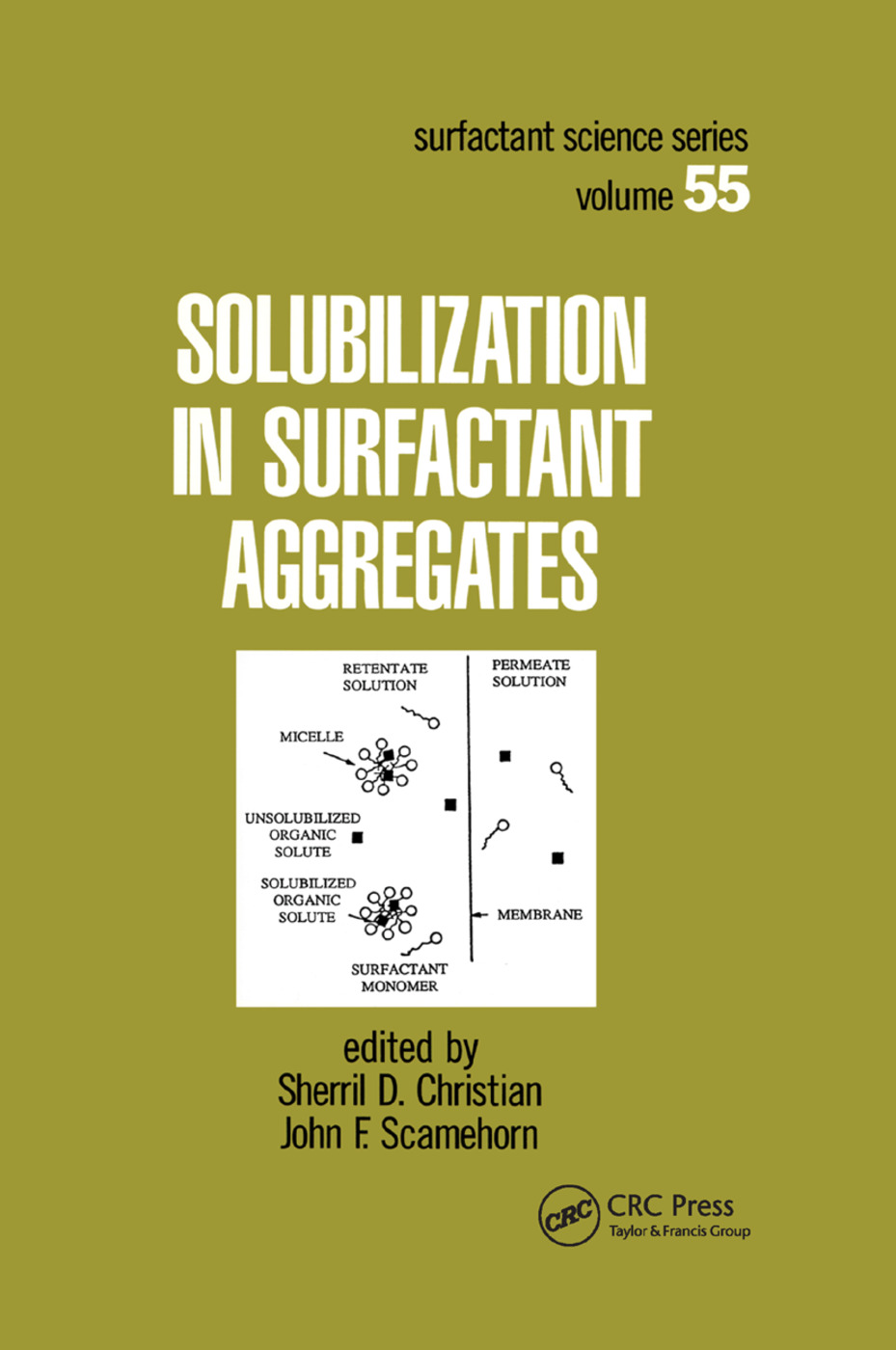 Solubilization in Surfactant Aggregates: 1st Edition (Paperback) book cover