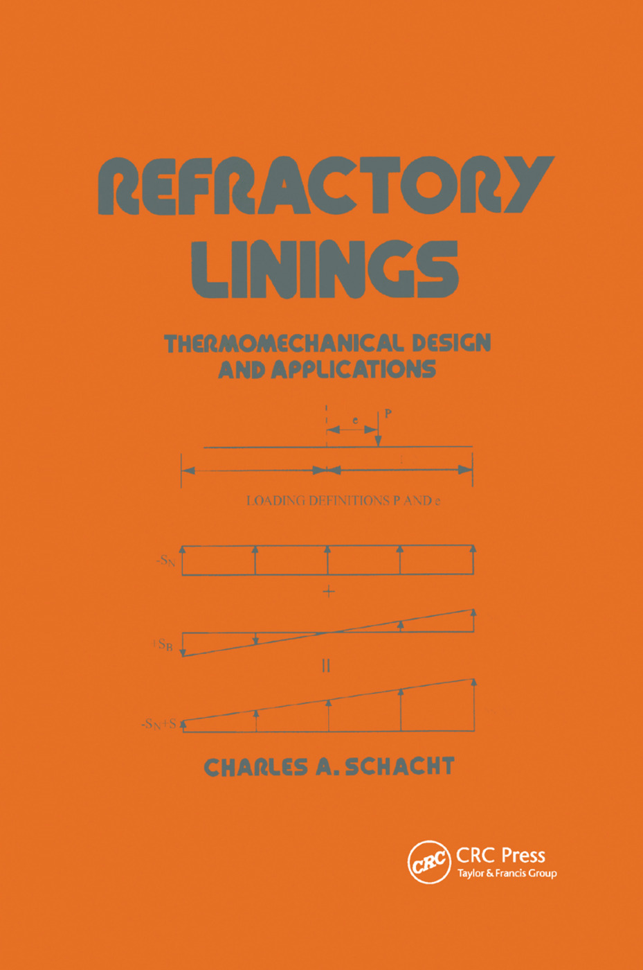 Refractory Linings: ThermoMechanical Design and Applications, 1st Edition (Paperback) book cover