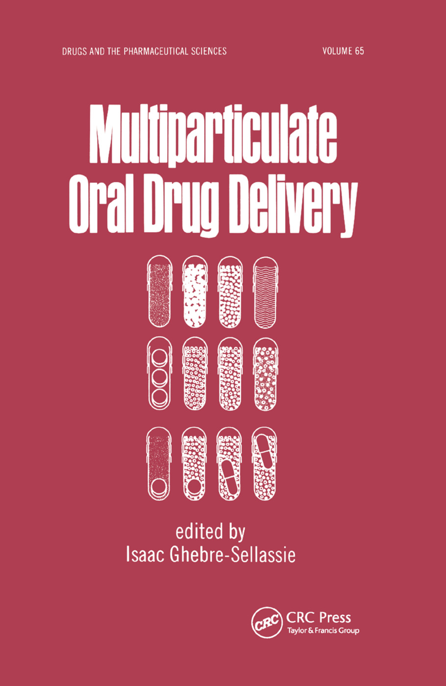 Multiparticulate Oral Drug Delivery: 1st Edition (Paperback) book cover