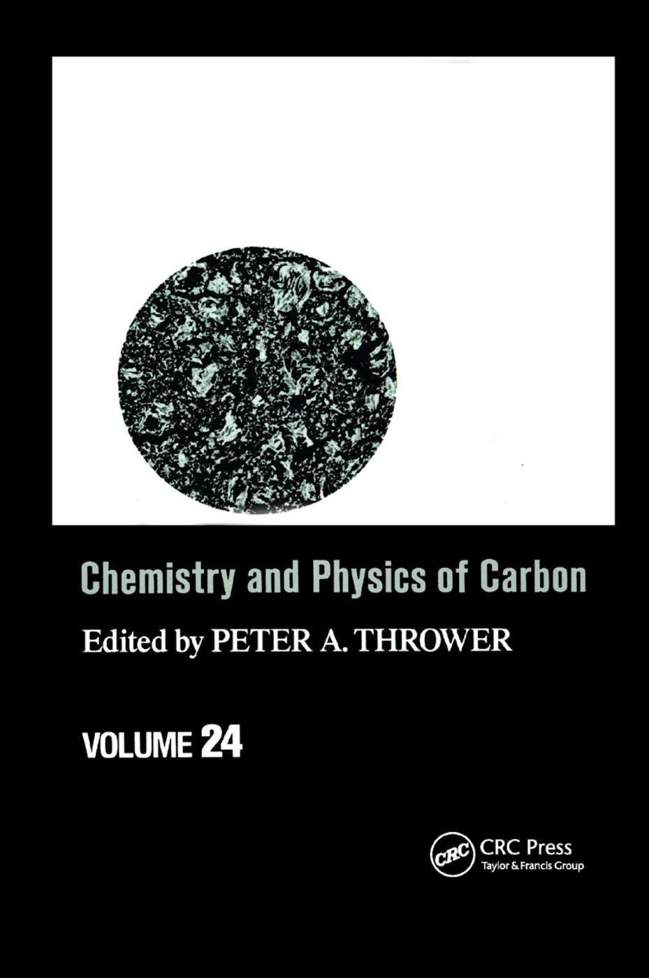 Chemistry & Physics of Carbon: Volume 24, 1st Edition (Paperback) book cover