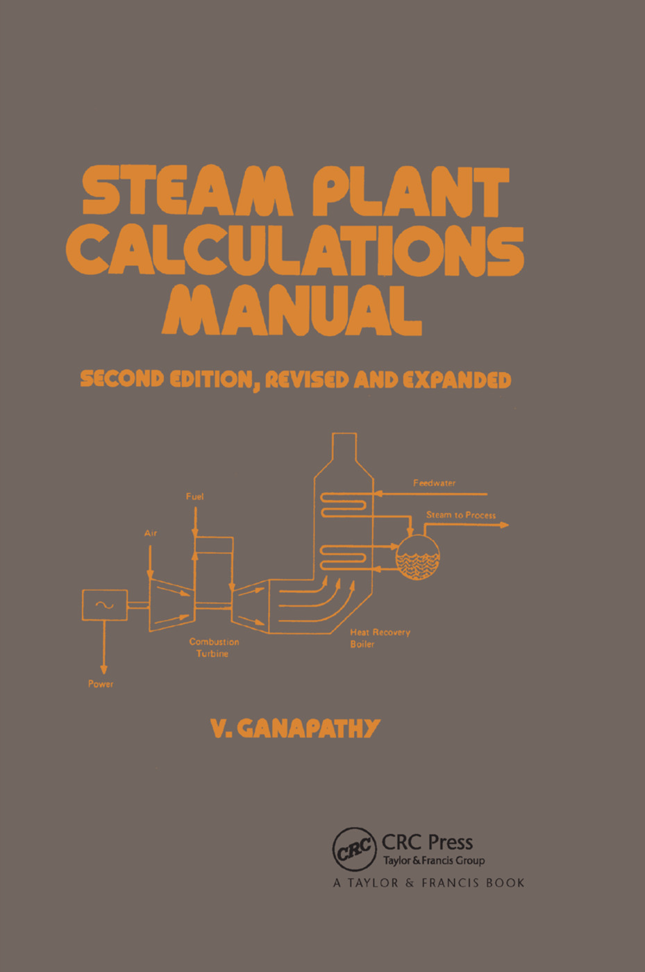 Steam Plant Calculations Manual, Revised and Expanded: 2nd Edition (Paperback) book cover