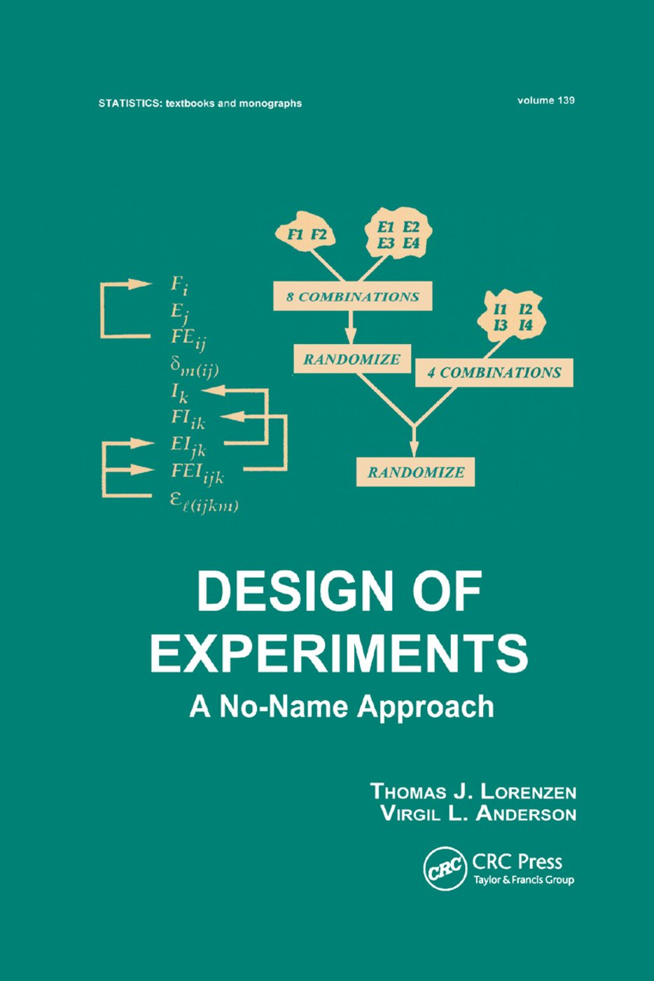 Design of Experiments: A No-Name Approach, 1st Edition (Paperback) book cover