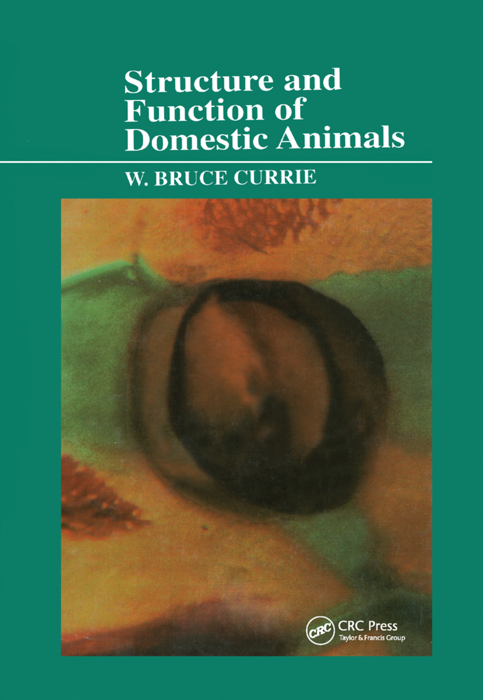 Structure and Function of Domestic Animals: 1st Edition (Paperback) book cover