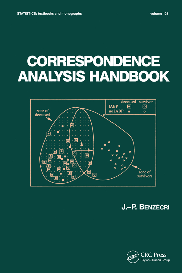 Correspondence Analysis Handbook: 1st Edition (Paperback) book cover