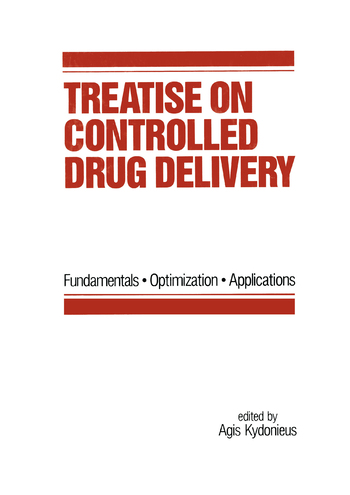 Treatise on Controlled Drug Delivery: Fundamentals-optimization-applications, 1st Edition (Paperback) book cover