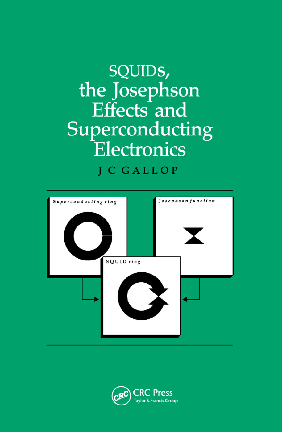 SQUIDs, the Josephson Effects and Superconducting Electronics