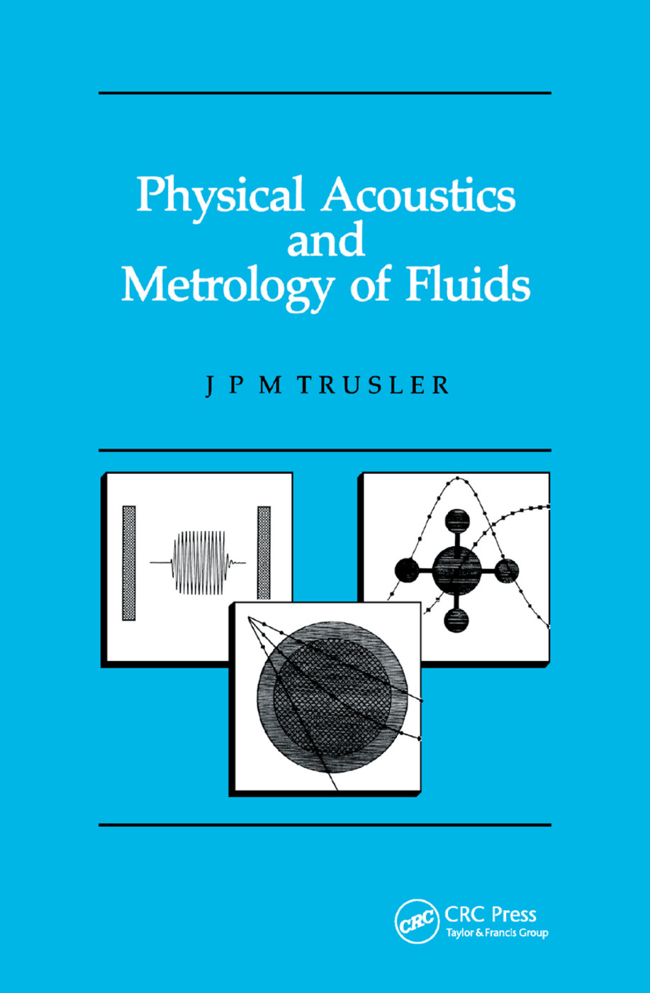 Physical Acoustics and Metrology of Fluids: 1st Edition (Paperback) book cover