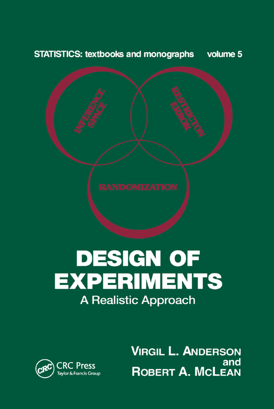 Design of Experiments: A Realistic Approach, 1st Edition (Paperback) book cover