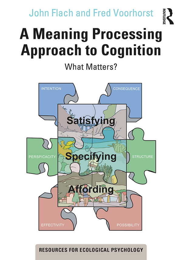 A Meaning Processing Approach to Cognition: What Matters? book cover
