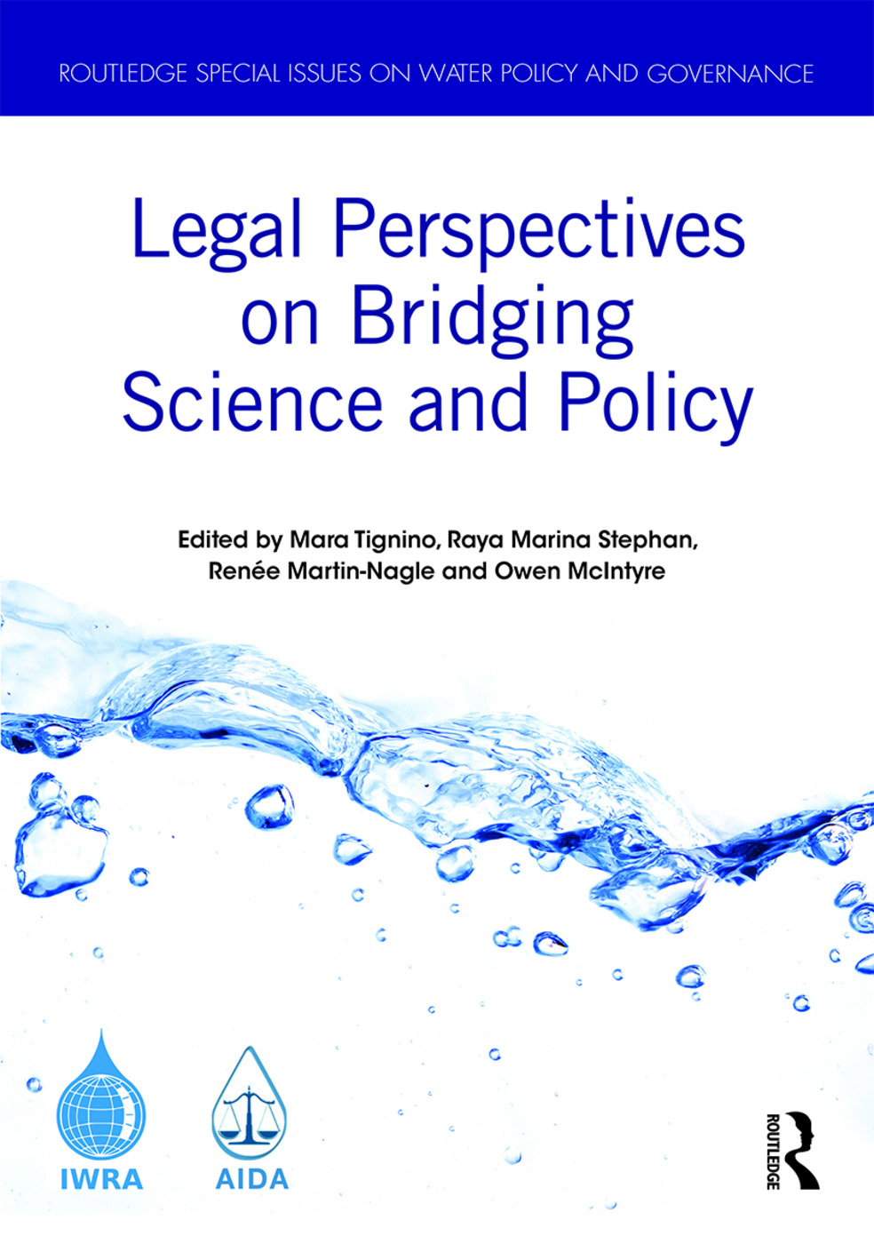 Legal Perspectives on Bridging Science and Policy book cover