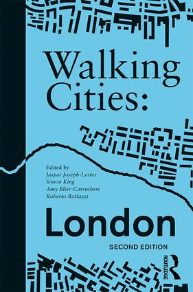 Walking Cities: London book cover