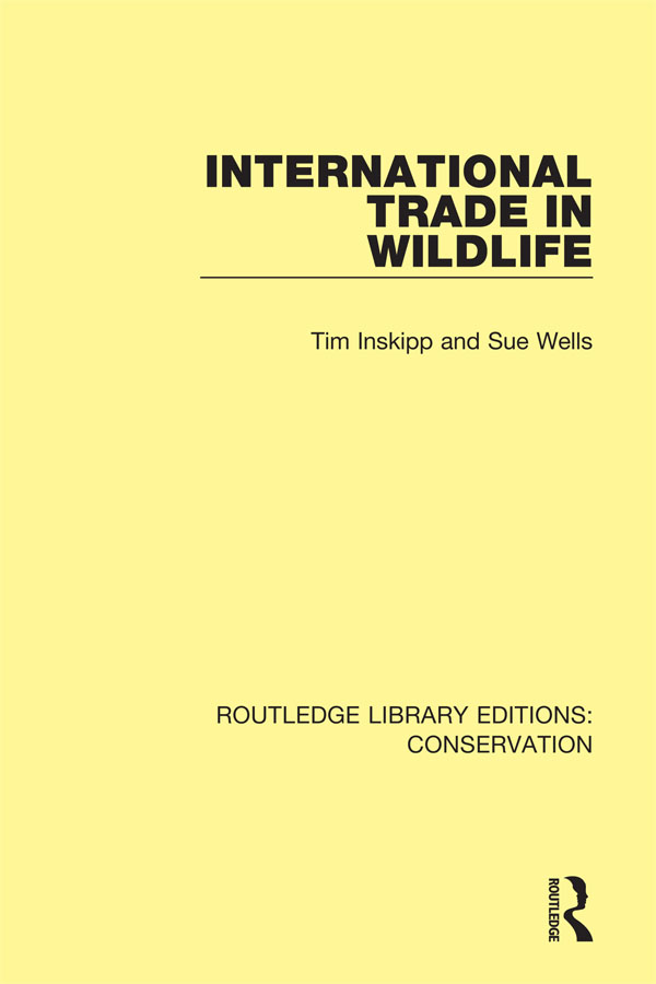 International Trade in Wildlife book cover