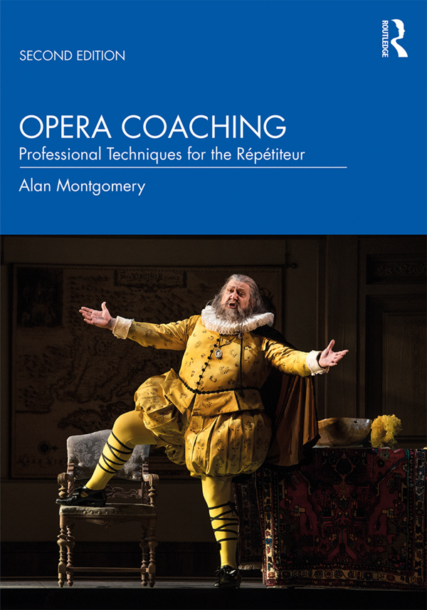 Opera Coaching: Professional Techniques for the Répétiteur book cover