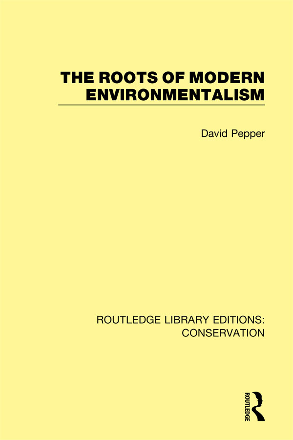 The Roots of Modern Environmentalism book cover