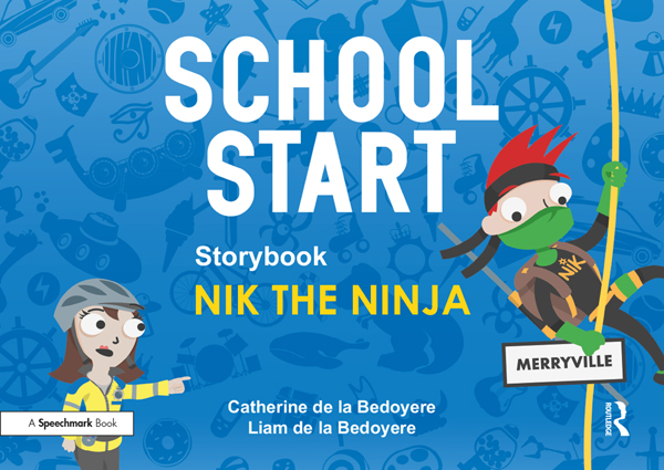 School Start Storybooks: Nik the Ninja book cover