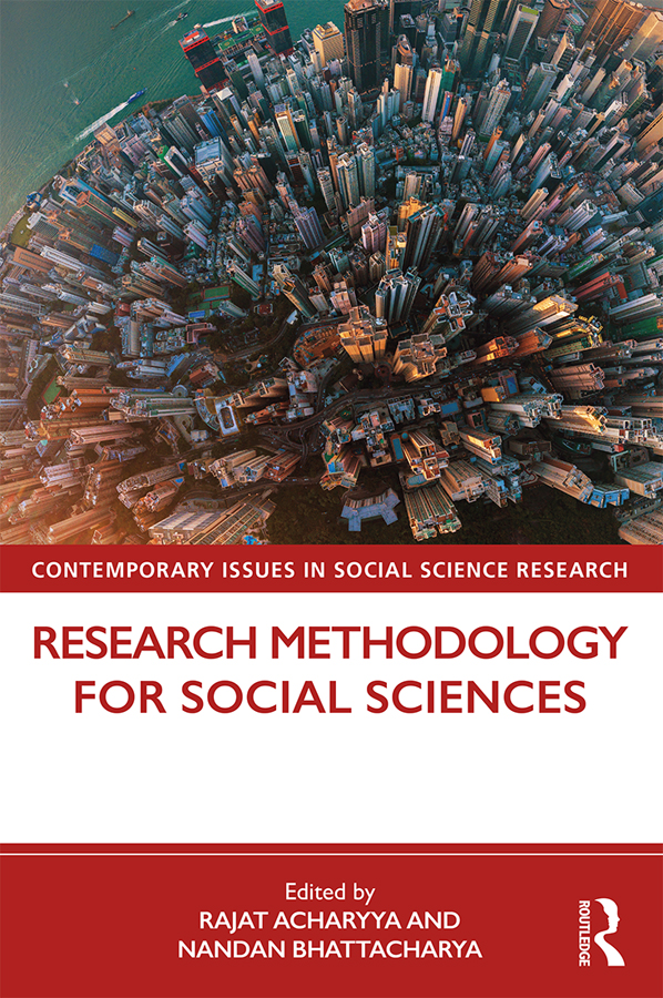 Research Methodology for Social Sciences book cover