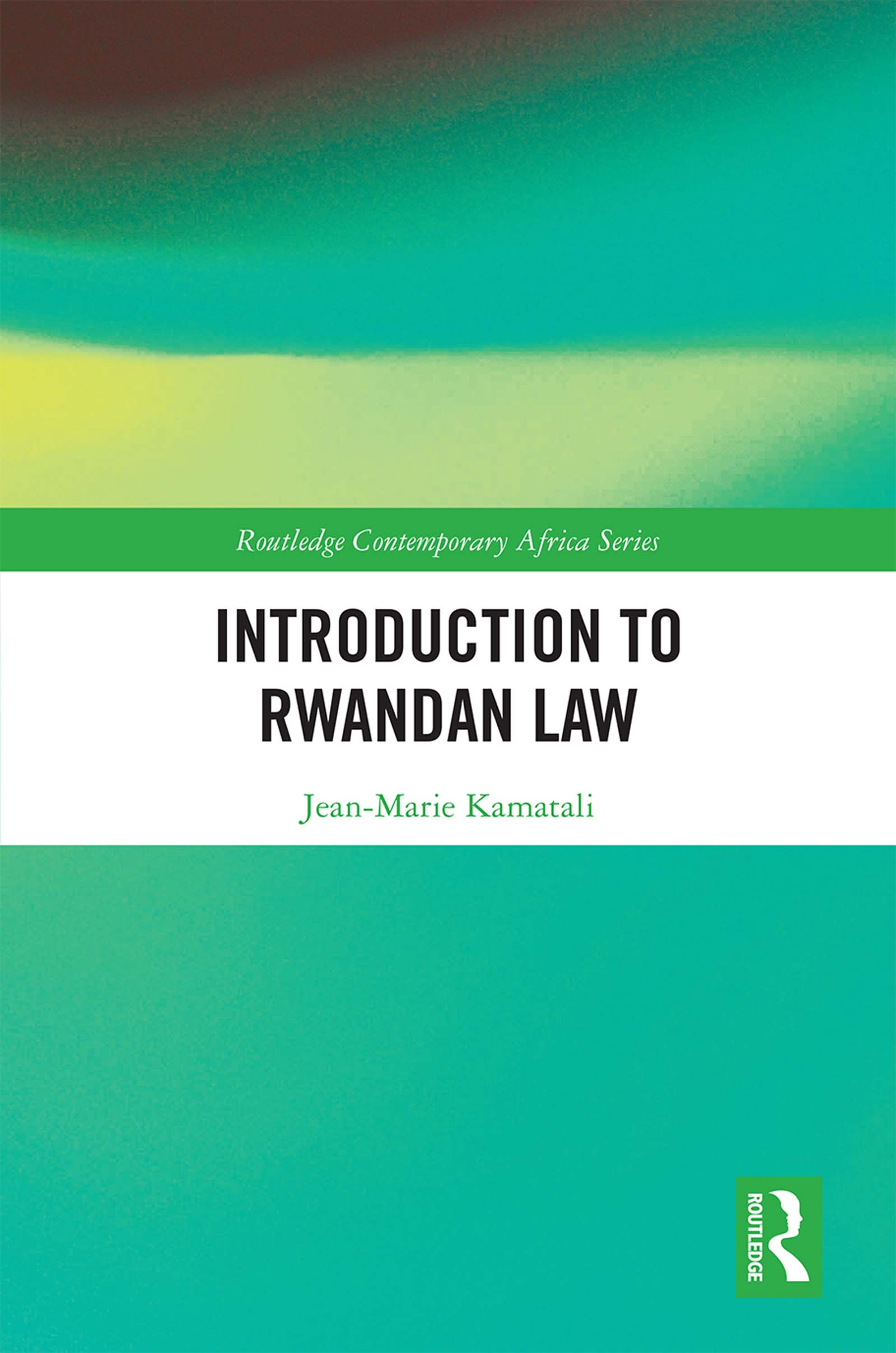 Introduction to Rwandan Law book cover
