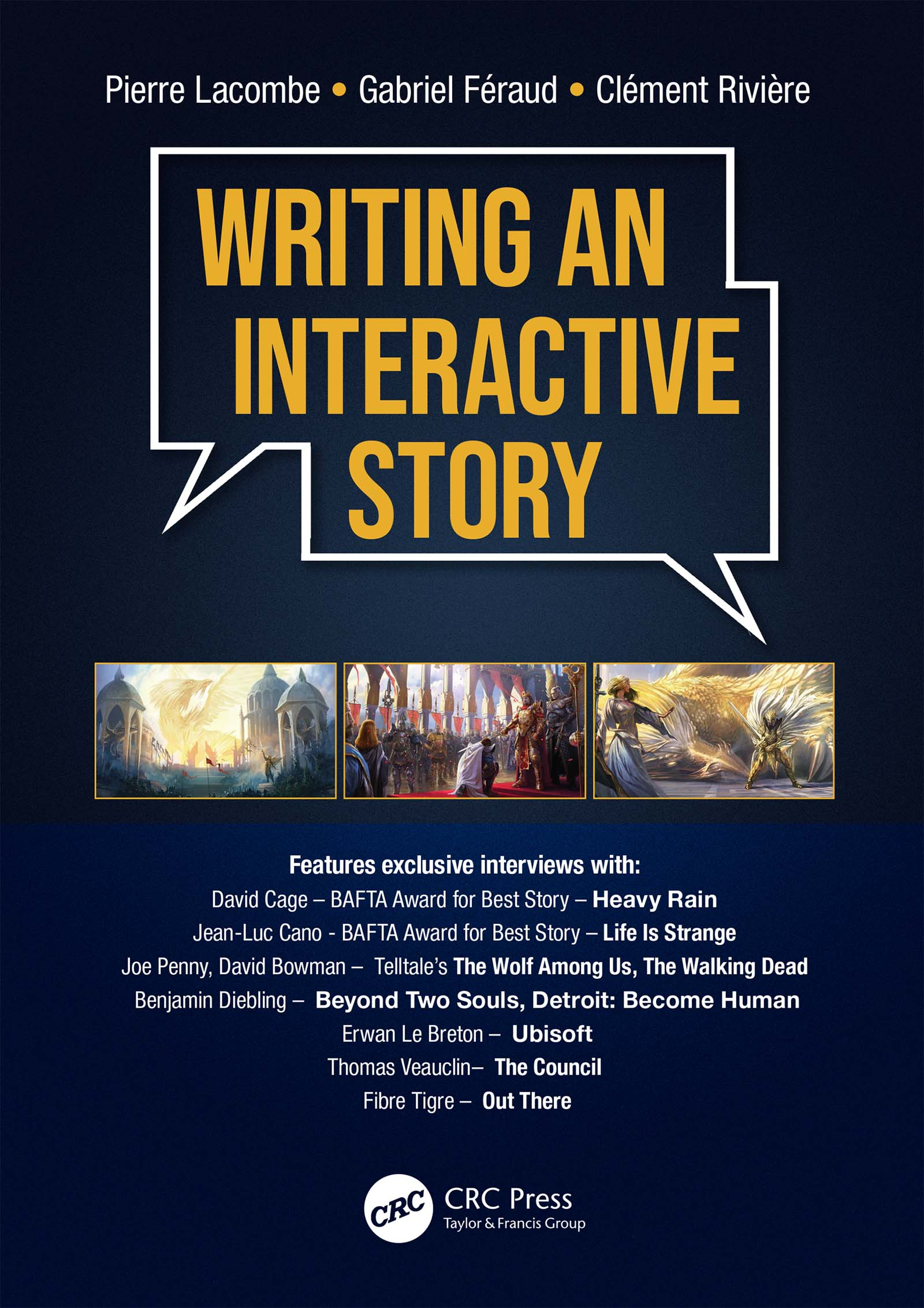 Writing an Interactive Story book cover
