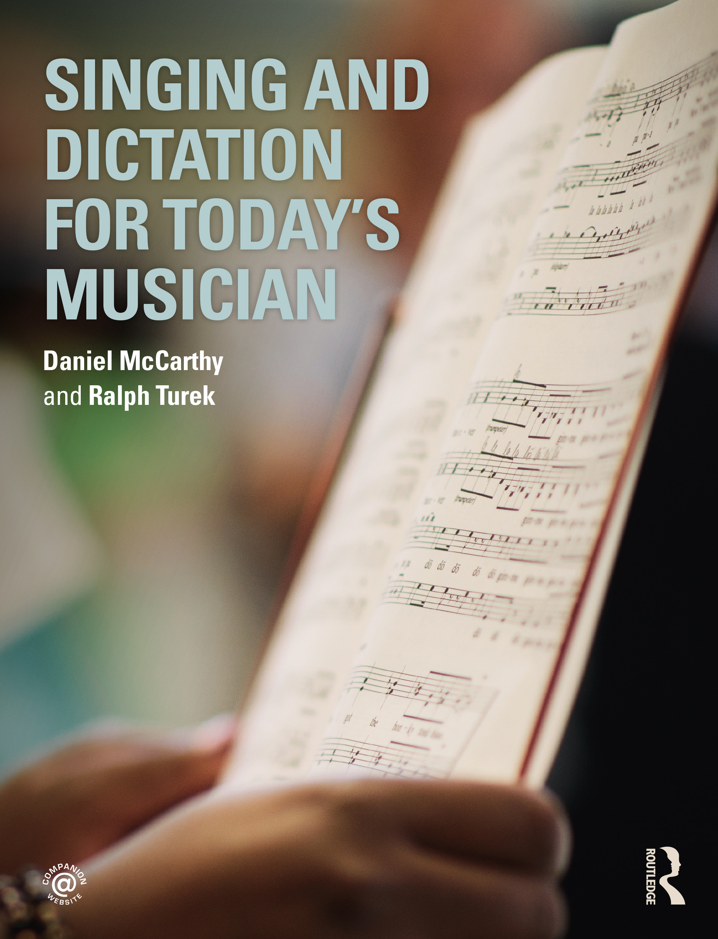 Singing and Dictation for Today's Musician book cover