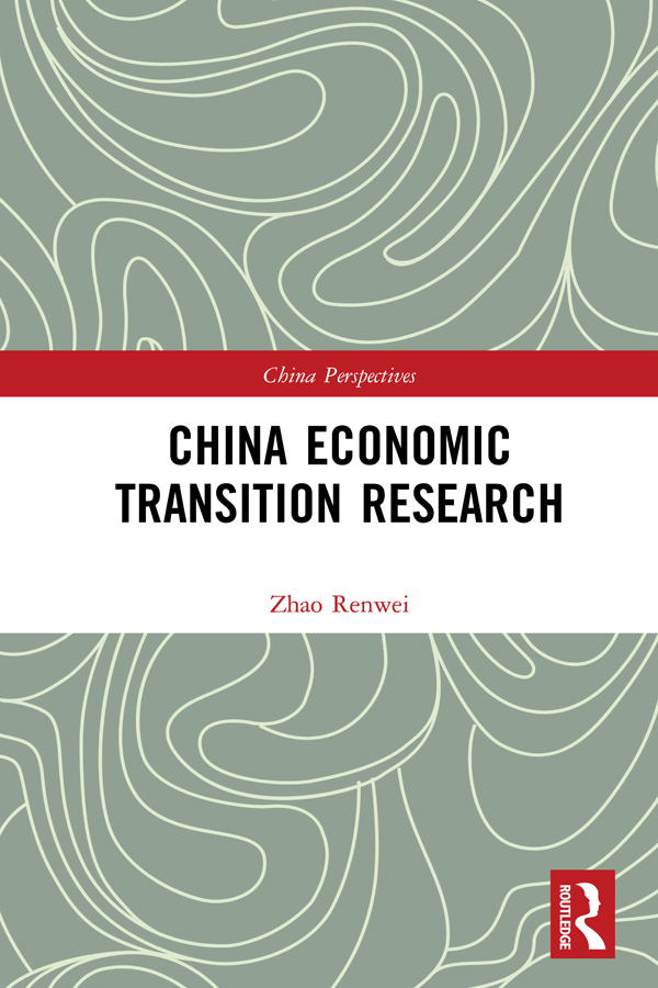 China Economic Transition Research book cover