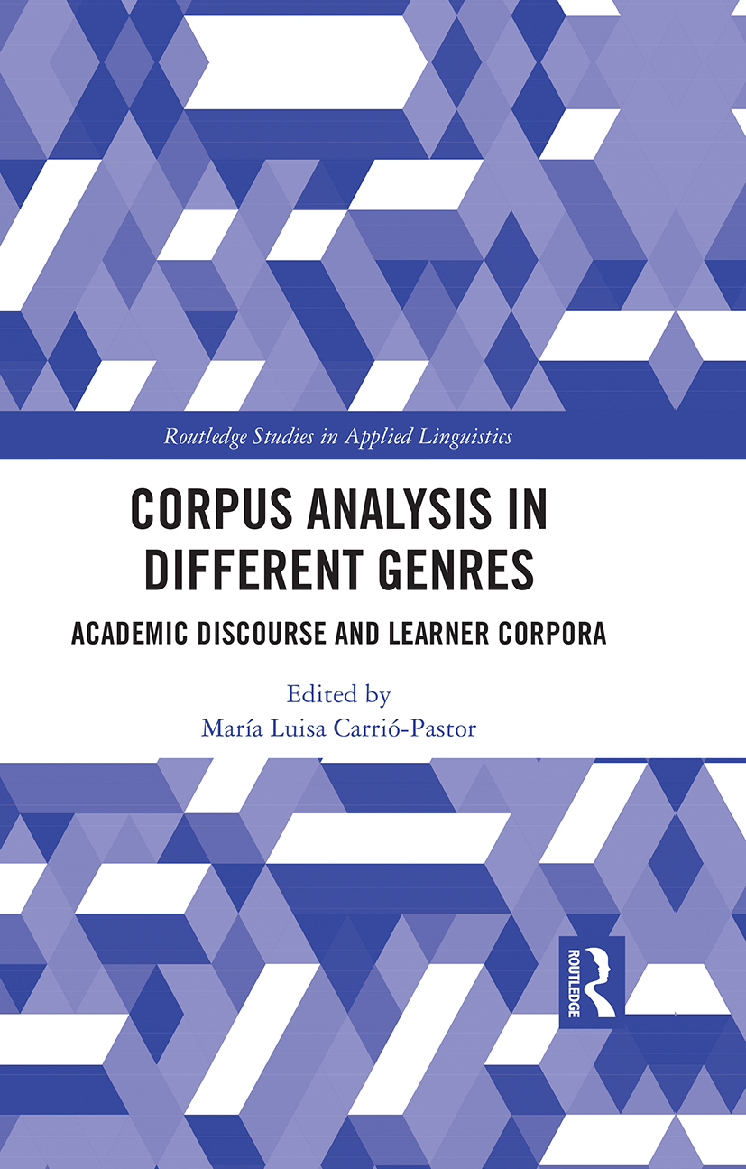 Corpus Analysis in Academic Discourse: Academic Discourse and Learner Corpora, 1st Edition (Hardback) book cover