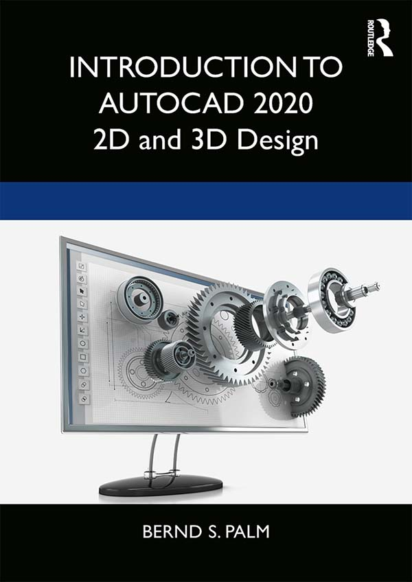 Introduction to AutoCAD 2020: 2D and 3D Design, 1st Edition (Paperback) book cover