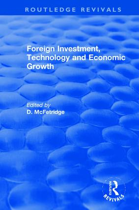 Foreign Investment, Technology and Economic Growth book cover