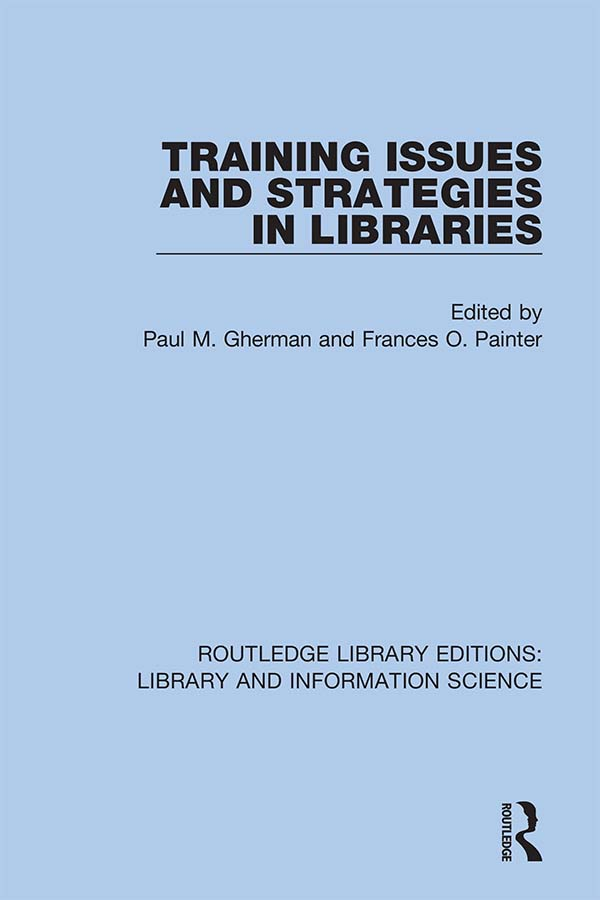 Training Issues and Strategies in Libraries book cover