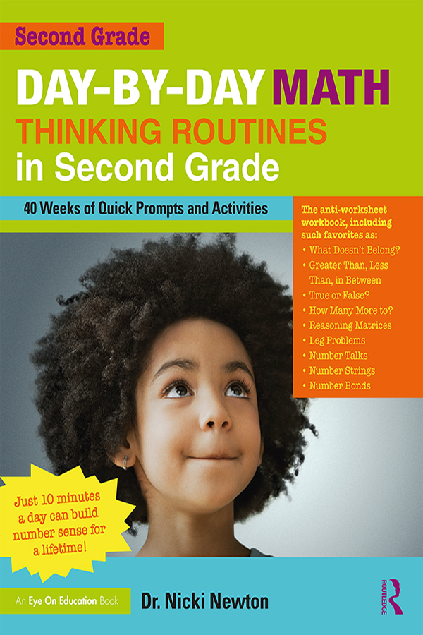 Day-by-Day Math Thinking Routines in Second Grade: 40 Weeks of Quick Prompts and Activities, 1st Edition (Paperback) book cover